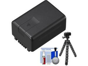Panasonic VW-VBT190 Rechargeable Battery with Flex Tripod + Cleaning Kit