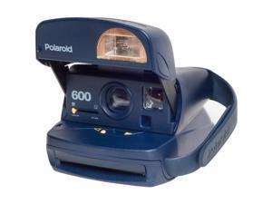 Polaroid 600 Round Instant Film Camera (Blue) - Refurbished by Impossible