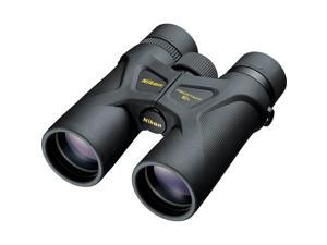 Nikon Prostaff 3S Binocular, 10X42, Roof Prism, Turn-and-Slide Eyecups, Multilayer-Coated, Waterproof & Fog Proff, Black