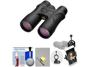 Nikon Prostaff 7S 10x42 ATB Waterproof / Fogproof Binoculars with Case + Smartphone Adapter + Cleaning Kit