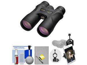 Nikon Prostaff 7S 10x30 ATB Waterproof / Fogproof Binoculars with Case + Smartphone Adapter + Cleaning Kit