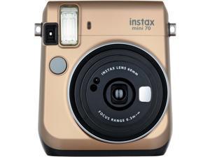 Fujifilm Instax Mini 70 Instant Film Camera (Stardust Gold)