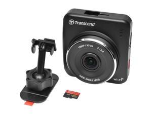 Transcend DrivePro 200 1080p Full HD Car Dashboard Video Recorder with Adhesive Mount