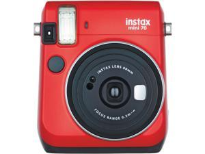 Fujifilm Instax Mini 70 Instant Film Camera (Passion Red)