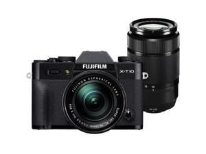 Fujifilm X-T10 Digital Camera & 16-50mm II & 50-230mm XC Lenses (Black)