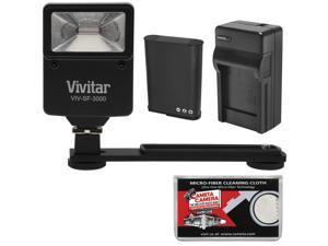 Essentials Bundle for Nikon Coolpix B700, P600 with EN-EL23 Battery + Charger + Flash & Bracket + Kit