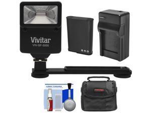 Essentials Bundle for Nikon Coolpix B700, P600 with EN-EL23 Battery + Charger + Case + Flash & Bracket + Kit