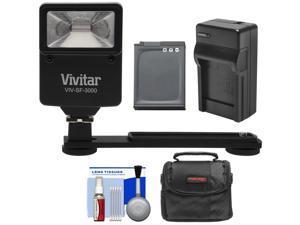 Essentials Bundle for Nikon Coolpix A900, AW130, S9900 with EN-EL12 Battery + Charger + Case + Flash & Bracket + Kit