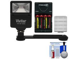 Essentials Bundle for Nikon Coolpix B500, L32, L330, L340, L830, L840 with AA Batteries & Charger + Kit Flash & Bracket + Kit