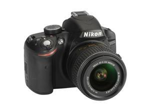Nikon D3200 Digital SLR Camera with 18-55mm VR II Lens Kit (Black)