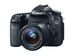 Canon EOS 70D DSLR Camera with EF-S 18-55mm IS STM Lens Kit