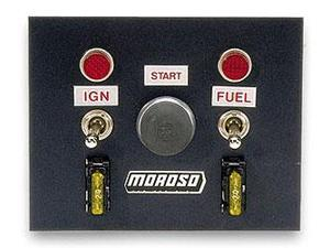 "Moroso 74130 4"" x 5"" Oval Track Switch Panel"