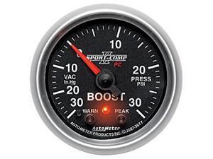 Auto Meter 3677 Sport-Comp PC Boost/Vacuum Gauge