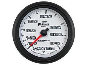 Auto Meter 7832 Phantom II Mechanical Water Temperature Gauge