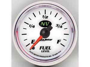 Auto Meter 7310 NV Electric Programmable Fuel Level Gauge