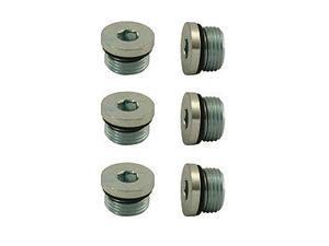 Moroso Performance 97005 Steel Pipe Plugs