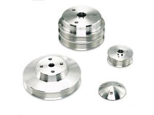 March Performance 6330 Serpentine Conversion Pulley Set - Performance Ratio