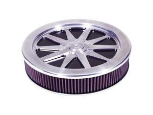 K&N Filters 66-5110 Custom 66 Air Cleaner Assembly