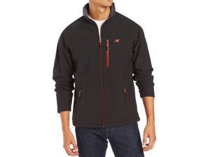 Men's New Balance Ripstop Softshell Fleece Jacket Charcoal Water and Wind Resistant (MSRP $80)