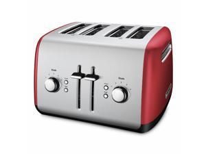 KitchenAid KMT4115ER 4 Slice Metal Toaster - Empire Red