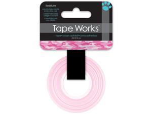 """Tape Works Tape .625""""X50ft-Pink Camo"""