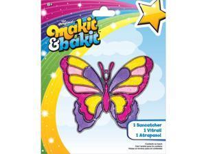 Makit & Bakit Suncatcher Kit-Large Butterfly