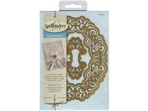 Spellbinders Shapeabilities Dies-Heirloom Oval