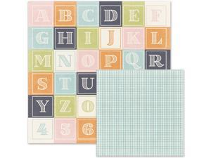 """Little One Double-Sided Cardstock 12""""X12""""-Building Blocks"""