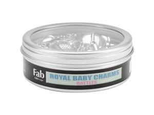 Silver Embellishments 20/Pkg-Rattle