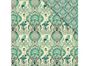 """Floral Delight Double-Sided Cardstock 12""""X12""""-Birds & Butterflies 2"""