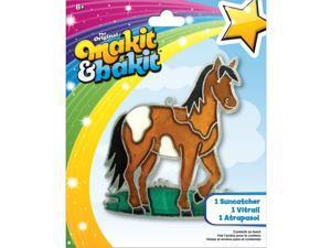 Makit & Bakit Suncatcher Kit-Horse