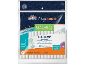 "Elmer's Craftbond(R) Less Mess All-Temp Glue Sticks-7/16""X4"" 40/Pkg"