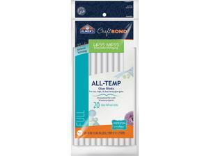 "Elmer's Craftbond(R) Less Mess All-Temp Glue Sticks-7/16""X8"" 20/Pkg"