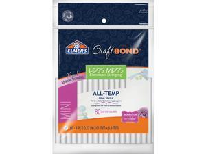"""Elmer's Craftbond(R) All-Temp Less Mess Mini Glue Sticks-.27""""X4"""" 80/Pkg"""