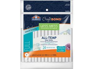 "Elmer's Craftbond(R) Less Mess All-Temp Glue Sticks-7/16""X4"" 24/Pkg"