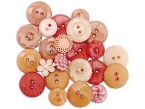 Dress It Up Au Jardin Buttons-Vintage