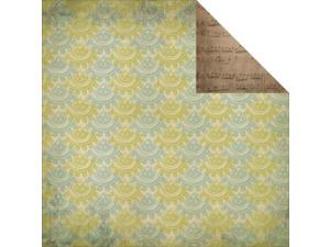 """Heirloom Double-Sided Cardstock 12""""X12""""-Past"""