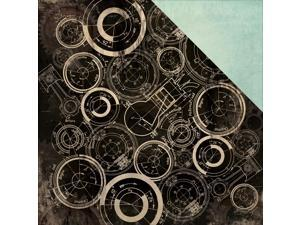 """Time Machine Double-Sided Cardstock 12""""X12""""-Coggler"""
