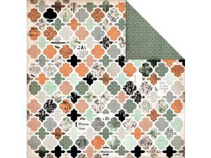 "Mister Fox Double-Sided Cardstock 12""X12""-Honourable"
