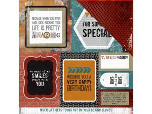 "Scrap Yard Double-Sided Cardstock 12""X12""-Loft"