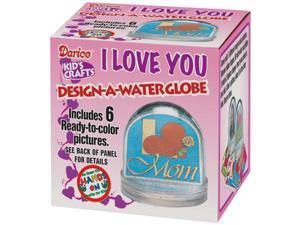 "Design-A-Waterglobe 3.25""-Clear"