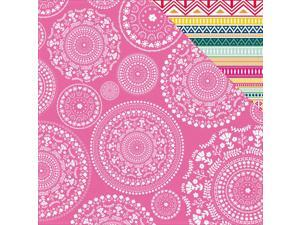 "Fiesta! Double-Sided Cardstock 12""X12""-Siesta"