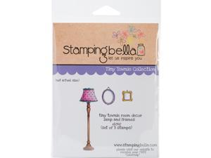 Stamping Bella EB392 Cling Stamp, 6.5 x 4.5 in. - Tiny Townie Room Decor