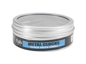 Metal Clock Face 50/Pkg-Small Black