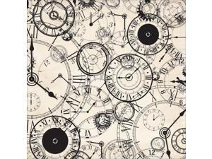 "Time Machine Spot Varnish Cardstock 12""X12""-Hour"