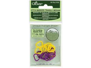 Stitch Markers Triangle Medium-2 Colors 16/Pkg