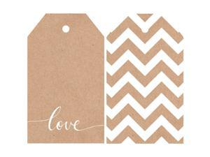 "Mix & Match Tag Pack 2""X3.25"" 12/Pkg-Chevron"