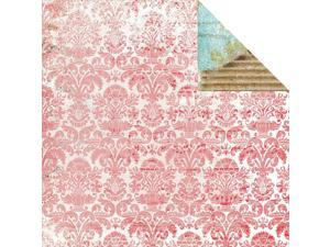"Kaleidoscope Double-Sided Cardstock 12""X12""-Decoupage"