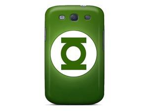 Sanp On Case Cover Protector For Galaxy S3 (green Lantern Hd Logo)