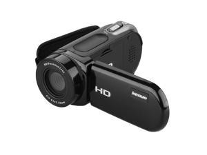 KENUO Full HD 720P Digital Video Camera 2.4 TFT LCD 16MP 8x Zoom Camcorder DV - Black